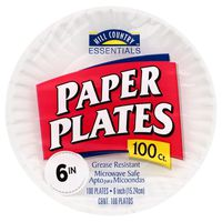 Hill Country Fare 6 Inch Polypropylene Paper Plates