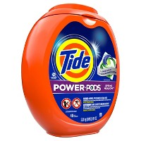 Tide Power Pods Spring Meadow Laundry Detergent Liquid Pacs Designed for Large Loads - 48ct
