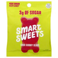 SmartSweets Candy, Gummy Bears, Sour