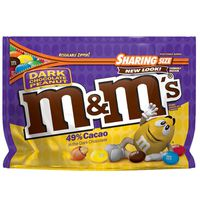 M&M's Peanut Dark Chocolate Candy Sharing Size