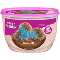 Blue Bunny Sweet Freedom Chocolate Reduced Fat Ice Cream, 48 fl oz