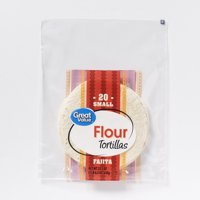 "Great Value 6"" Flour Tortilla 20ct"