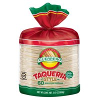 Guerrero Taqueria Style Mini Corn Tortillas, 60 Count
