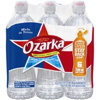 Ozarka Natural Spring Water, 23.7 Fl. Oz., 6 Count
