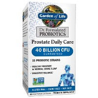 Garden of Life Dr. Formulated Probiotics Prostate Daily Care Capsules - 30ct