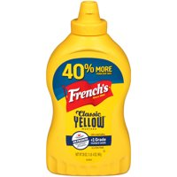 French's Classic Yellow Mustard, No Artificial Colors, 20 oz