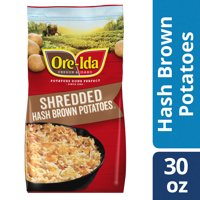 Ore-Ida Shredded Hash Brown Potatoes, 30 oz Bag