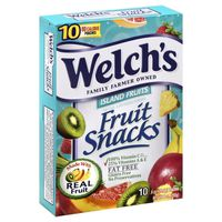 Welch's Island Fruits Fruit Snacks