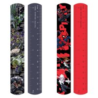 Spiderman 4 Pack Slap Bracelet