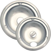 Range Kleen Chrome Drip Bowl, 2 Piece