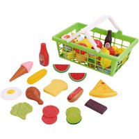 Kid Connection Play Food Set, 100 Pieces, Ages 3+