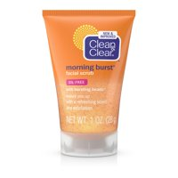 Clean & Clear Morning Burst Facial Cleanser For Daily Skincare Routines, 1 Fl. Oz.