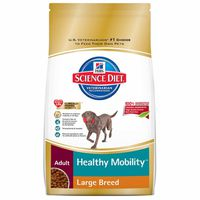 Hill's Science Diet Dog Food, Premium, Healthy Mobility, Large Breed Adult, Chicken Meal, Brown Rice & Barley Recipe