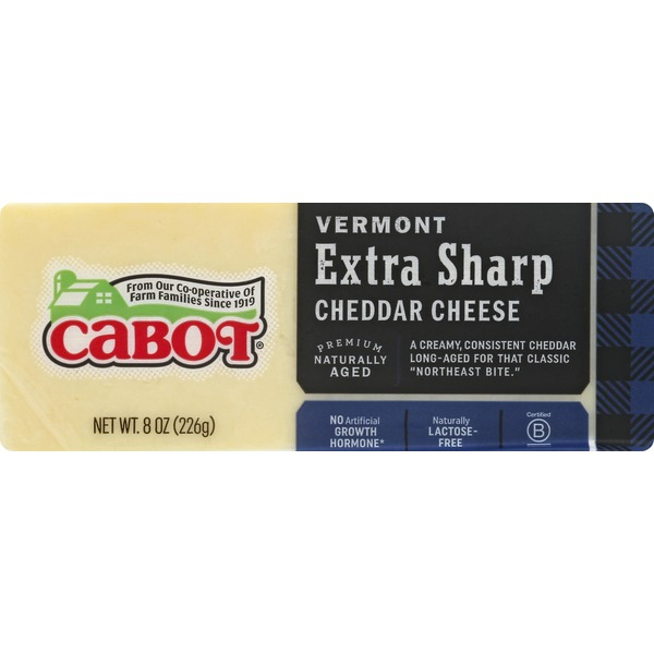 Cabot Creamery Extra Sharp Cheddar Cheese