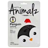 Masque Bar Pretty Animalz Penguin Purifying Sheet Mask - 0.71 fl oz