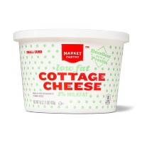 1% Milkfat Small Curd Cottage Cheese - 16oz - Market Pantry™