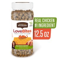 Rachael Ray Nutrish Love Bites Cat Treats, Chicken, 12.5 Ounce Canister