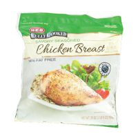 H-E-B Fully Cooked Savory Seasoned Chicken Breast With Rib Meat