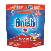 Finish Max-in-1 Dishwasher Detergent Tabs