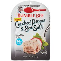 Bumble Bee Seasoned Tuna Cracked Pepper & Sea Salt