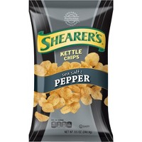 Shearer's Sea Salt & Pepper Kettle Chips - 8.5oz