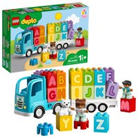 LEGO DUPLO My First Alphabet Truck 10915 Educational Building Toy for Toddlers (36 Pieces)