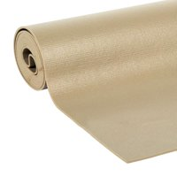 EasyLiner Solid Grip 20 In. x 6 Ft. Shelf Liner with Clorox, Taupe