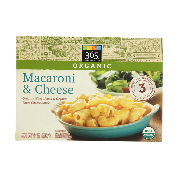 365 everyday value® Organic Macaroni And Cheese, 9 Oz.