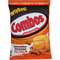 COMBOS Cheddar Cheese Pretzel Baked Snacks, 15 Oz.