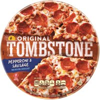 TOMBSTONE Original Pepperoni & Sausage Frozen Pizza 20.6 oz. Pack