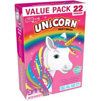 Kellogg's Unicorn Fruit Snacks, Dazzle Berry, 22 ct, 0.8 oz
