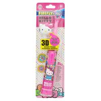 Firefly Toothbrush, Powered, with Cap, Hello Kitty, Soft