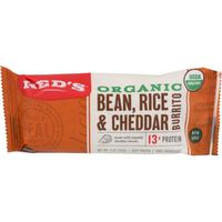 Red's Organic Burrito Bean, Rice & Cheddar