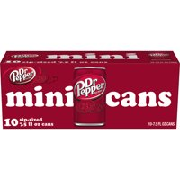 Dr Pepper Soda, 7.5 Fl. Oz., 10 Count