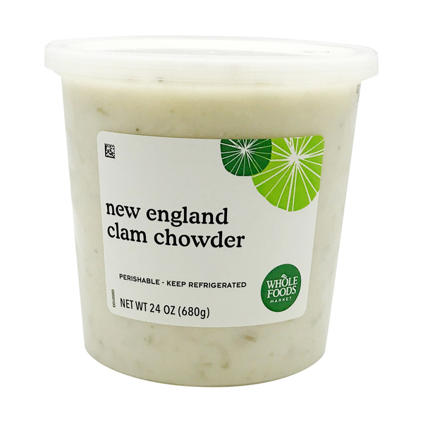New England Clam Chowder, 24 oz