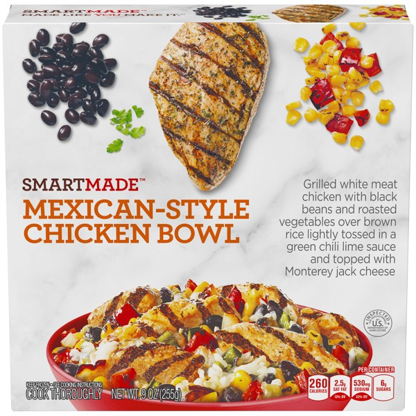 Smart Made Mexican Style Frozen Chicken Bowl - 9oz