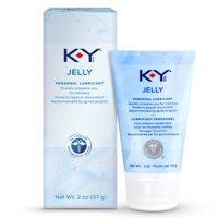 K-Y Personal Water Based Lubricant Jelly - 2 oz