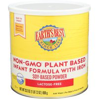 Earth's Best Non-gmo~ Plant Based Infant Formula With Iron