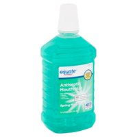 Equate Spring Mint Antiseptic Mouthrinse, 50.7 fl oz