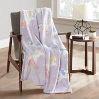 Your Zone Unicorn Glow in the Dark Throw