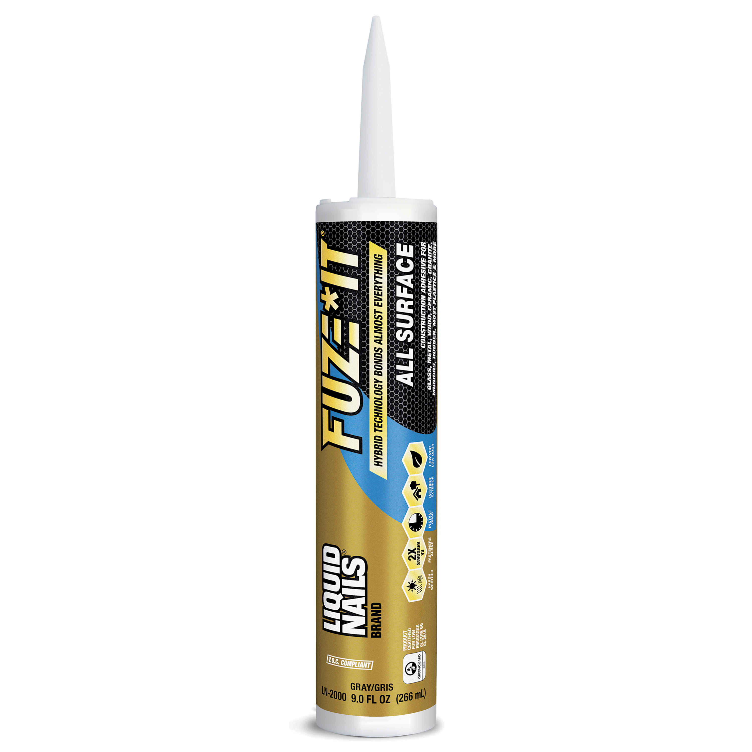 (24 Pack) Liquid Nails Fuze It All Surface Construction Adhesive, 9 fl oz.