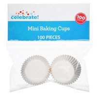 Way to Celebrate Mini Baking Cups, 100 Count