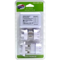 American Tourister Travel Adapter with 4 USB Ports