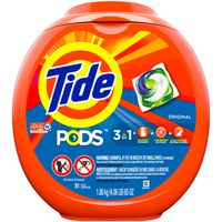 Tide Liquid Laundry Detergent Pacs, Original