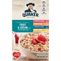 Quaker Qkr Iqo Fruit And Cream Variety 8ct