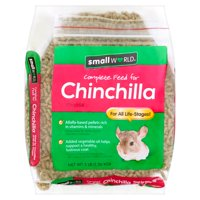 Small World Complete Feed for Chinchilla Food, 3 lb