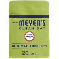 Mrs. Meyer's Lemon Verbena Auto Dish Soap - 0.71oz