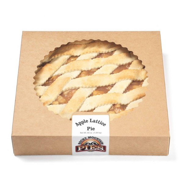 Rocky Mountain Pies Apple Lattice Pie - 12'
