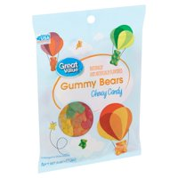 Great Value Gummy Bears Chewy Candy, 9 oz