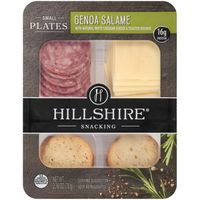 Hillshire Snacking Hillshire® Snacking Small Plates, Genoa Salame and White Cheddar Cheese, 2.76 oz